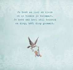 Inspiratie! Geboortegedichtjes   Mama en Zo Quotes For Kids, Poetry Quotes, Little Babies, Announcement, Baby Gifts, Birth, Poems, Maternity, Feelings