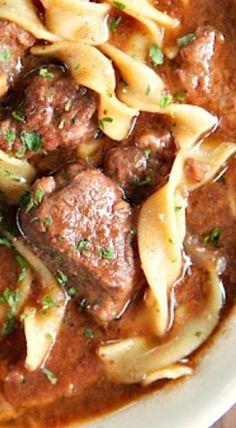 {Slow Cooker} Steak Soup