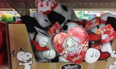 CollectPeanuts.com on Facebook - Ack! Dog Lips! Give your sweetie a kiss from Snoopy and these Valentine's Day Peanuts goodies found at CVS. Thanks to Shannon for sharing.  Join the Snoopy Spotters! Post photos of your finds on our Facebook wall.