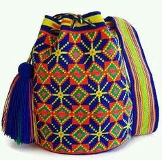Tapestry Bag, Tapestry Crochet, Tribal Patterns, Boho Bags, Crochet Accessories, Handicraft, Crochet Projects, Cross Stitch Patterns, Bucket Bag