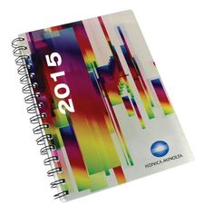 Metal Cover Spiral Bound Diary A5 Product Size: 148w x 210h Branding: Dye sublimation Material: Metal