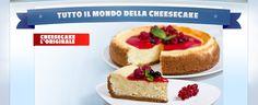 tutto il mondo della cheesecake