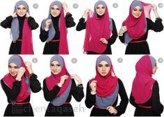 #shawl #hijab #tutorial