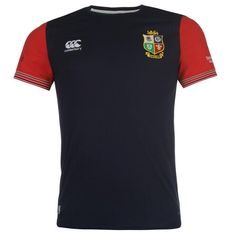 Canterbury | Canterbury Lions Cotton T Shirt | Men's Rugby Apparel