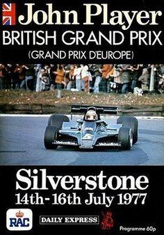 1977 GP de Gran Bretaña en Silverstone