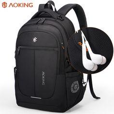 9eb2ff515dc4 Aoking Brand Men Backpack Light Comfort Fashion Urban Backpack for 15 inch  Laptop Breathable Rucksack Mochila School bag