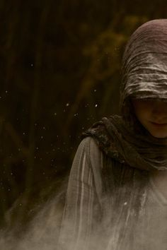 """""""There's a girl wandering around the woods."""" """"Many spirits in the shape of a girl are."""" """"This one you have to be afraid of."""" (The Witchsprite's Curse, Jo Girard)"""