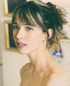 Maquillage naturel , c'est mon style ...O ici sur Sophie Marceau ♥