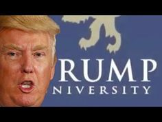 OMG! Trump the snake-oil salesman!People fell for this?? 3-day University class for how much. Oh, and it's not a University at all! Talk about getting Drumpfed!