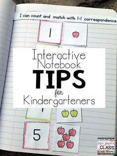 Interactive Notebook Tips for Primary Kids