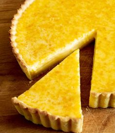 Seville Orange Tart makes the most of the zingy flavour & colour of this seasonal citrus fruit.