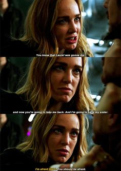 """You knew that Laurel was gonna die"" - Sara & Rip #LegendsOfTomorrow #Season1Finale #1x16"