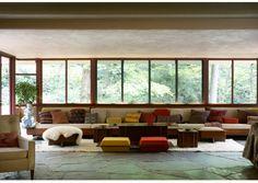 janelas de madeira para sala de estar - Pesquisa Google