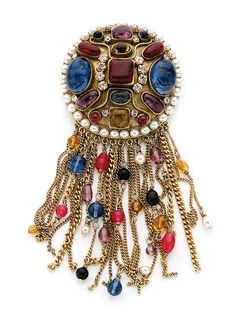 Karl Lagerfeld for Chanel Haute Couture Dangling Brooch