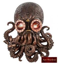 осьминог-противогаз