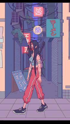 Bertnemmon art inspo in 2019 art, anime art, illustration ar Arte Dope, Dope Art, Aesthetic Art, Aesthetic Anime, Japon Illustration, Art Anime, Tumblr Wallpaper, Psychedelic Art, Pretty Art