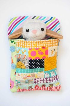 Softie Sleeping Bag Tutorial | Sew Mama Sew | Outstanding sewing, quilting, and needlework tutorials since 2005.
