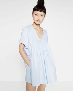 Zara~ Low-cut jumpsuit dress
