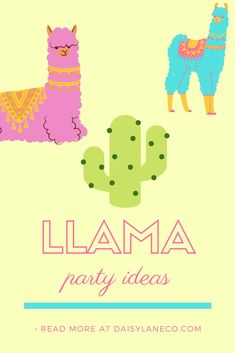 Simple llama birthday party ideas make party planning a snap! From llama party recipes to llama party favors to DIY llama party decorations, these tips have you covered. Simple instructions with links to find your party inspiration. Party planning ideas for a cactus party, fiesta baby shower or even a final fiesta bachelorette party. Cute llama party favor ideas which are affordable and compliment your llama party theme. Llama party favors for kids and party recipes will make them smile! Unique Party Themes, Adult Party Themes, Party Ideas, Mermaid Party Favors, Kid Party Favors, Birthday Party Games For Kids, Birthday Party Themes, Birthday Ideas, Hot Wheels Party
