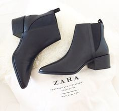 Chelsea ankle boots. Necessity!