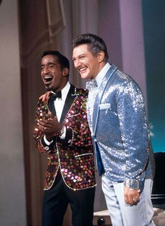 February 11, 1967 — Host Sammy Davis Jr. with Liberace on The Hollywood Palace (1965-70, ABC)
