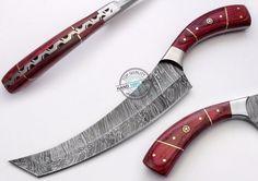"11.25"" Custom Made Beautiful Damascus Steel chef / kitchen Knife (AA-0375-2) #KnifeArtist"