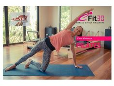 Katie Mackenzie from Re-Run: Beginners Pilates Workout Pilates Workout Youtube, Pilates Matwork, Pilates At Home, Muscle Building Women, Muscle Building Workouts, Weight Training Workouts, Running Workouts, Barre Workouts, Month Workout Challenge