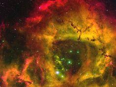 A nebulosa Rosette NGC 2237