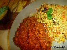 Moroccan Lamb with Cous Cous - ThermOMG