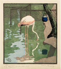martha cunz 1904  · flamingo