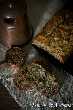 Banana Coconut Bread #vegan @Jean / Lemons & Anchovies