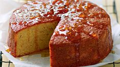 Serve your guests this delightful orange cake with toffee syrup. Toffee Syrup Recipe, Sweet Loaf Recipe, Orange Syrup Cake, One Pot Chef, Toffee Cake, Desserts With Biscuits, Just Cakes, Round Cake Pans, Savoury Dishes