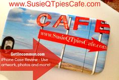 Get Uncommon iPhone Case Review and $50 GIveaway from SusieQTpies Cafe- Personalized case where you can use pictures, artwork and more! Great Mother's Day gift idea! #sponsored