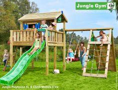 Playhouse for kids - Jungle Playhouse XL