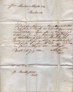old french letter