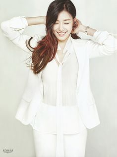 SNSD Tiffany Kpop Fashion | SURE Magazine January 2016