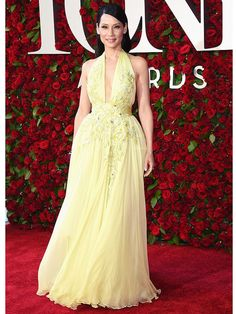 LUCY LIU // It's all about the theater at Broadway's biggest night – but the style is pretty fabulous too