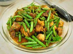 Un plat de porc aux haricots verts pour votre repas principal, facile à préparer avec le cookeo.