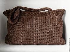 Купить ШОКОЛАДНЫЙ ТРЮФЕЛЬ сумка на плечо объемная практичная - коричневый, однотонный, шоколадный, сумка