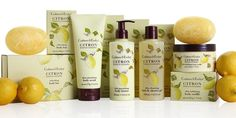 Crabtree & Evelyn Citron Collection