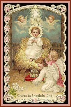 Divine Child with Angels