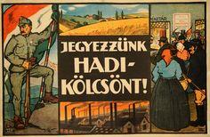 Weiss Antal: Jegyezzünk hadikölcsönt! (1917)