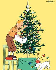 Christmas tree galore this year! #Tintin #Herge