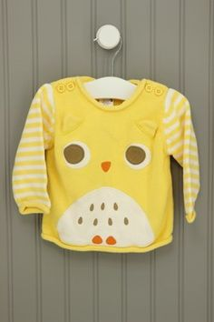 Gymboree Size 6-12M Owl Sweater