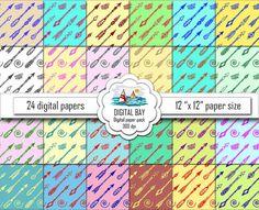 TRIBAL ARROWS  Digital paper pack  Instant download  by DigitalBay