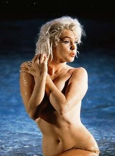 """Marilyn Monroe in """"Something's Got To Give"""" 1962"""