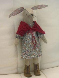 Miss Maggie Softies, Plushies, Sewing Kit, Getting Cozy, Rag Dolls, Crochet Toys, Rabbits, Christmas Stockings, Bunny