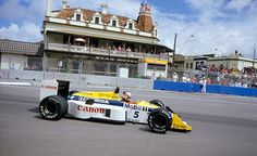 Nigel Mansell Williams - Honda 1986