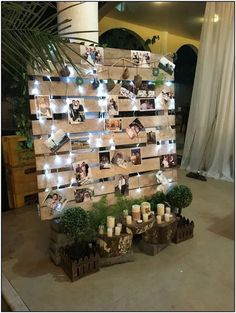 Bridal Shower Decorations 178947785182279184 - wedding photo display wood pallet backdrop Source by dellems Winter Wedding Decorations, Bridal Shower Decorations, 21st Decorations, Reception Decorations, Whimsical Wedding Decor, Winter Wedding Ideas, Shabby Chic Wedding Decor, Engagement Party Decorations, Pallet Backdrop