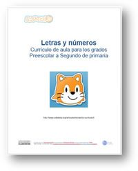 Letras y Números ScratchJr